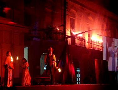 Aniversario 143 del Incendio de Bayamo
