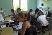 Garantizan los Joven Club de Media Luna  la preparación y superación de niños y adolescentes en temas de informática.