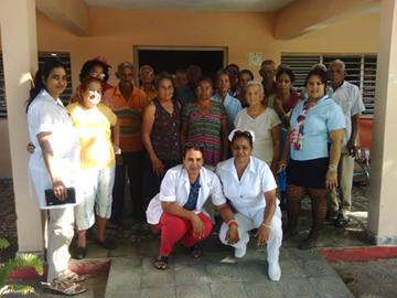 Rinde  Geroclub homenaje en Río Cauto al 163 aniversario de José Martí.