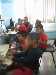 Presentación de la multimedia «Historia local», en el Joven Club Buey Arriba II.