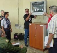 Las Salas de Televisión: 17 años de un magistral programa de la Revolución inaugurado por Fidel en Campechuela.