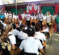 Efectuado en Campechuela acto municipal por el 4 de abril.