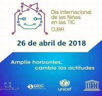 Joven Club Masó celebra Día Internacional de las Niñas y las TIC.