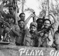 Conversatorio en el Joven Club de Campechuela 1 sobre la invasión mercenaria por Playa Girón.