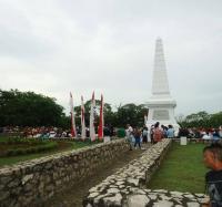 Caída en combate de José Martí, Héroe Nacional de Cuba, el 19 de Mayo de 1895 en los potreros de Dos Ríos, jurisdicción de Jiguaní.