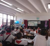 Discusión de Trabajos Finales en el Seminternado René Martínez Tamayo.