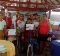 Evento municipal de discapacidad severa