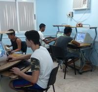 Celebran los Joven Club en Jiguaní, día de la Rebeldía Nacional