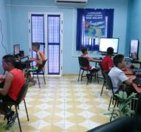 Actividades por el Día de los Niños en el Joven Club Campechuela 1