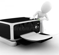 Servicio de impresión  en la instalación Río Cauto I