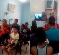 Presenta Joven Club Jiguaní Mochila especial por el aniversario 92 del natalicio del Comandante en Jefe Fidel Castro Ruz