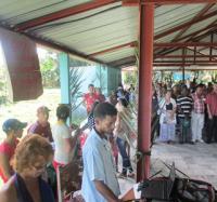 Joven Club de Bartolomé Masó Participa en el acto municipal de la FMC