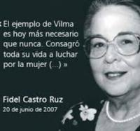 Se celebra, en Aula Anexa de La Estrella, el 58 Aniversario de la Federación de Mujeres Cubanas