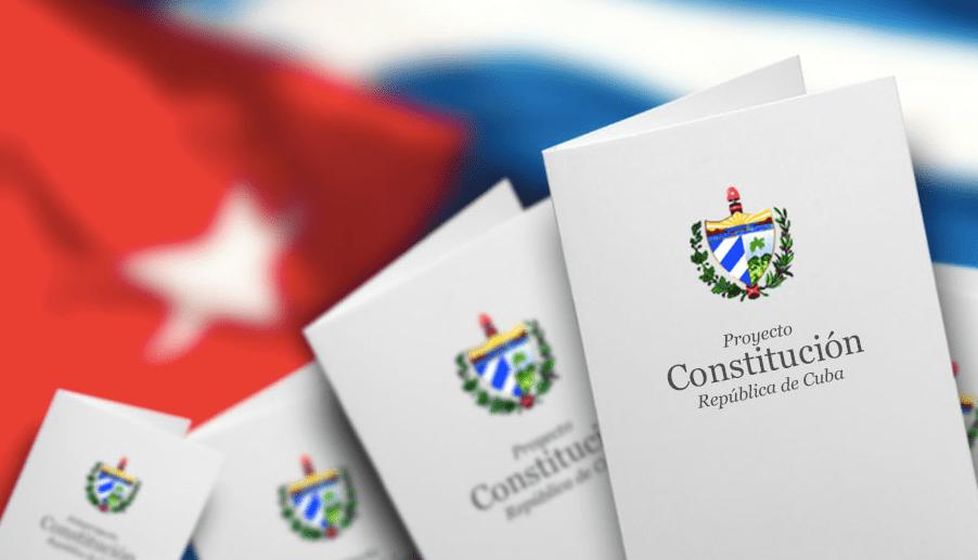 Descarga y copia del proyecto de constitución cubana