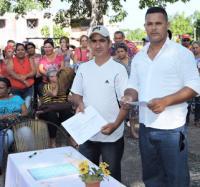 Se Firma Convenio de trabajo con Centros Educacionales en Joven Club Masó III.