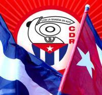 Trabajadores del Joven club Yara III saludan el aniversario 58 de los CDR.