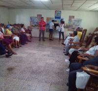 """El proyecto """"INTER-Actuan2"""" visitó el hogar de ancianos Lidia Doce Sánchez."""