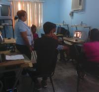 Inicia curso de Sistema Operativo Windows en Joven Club Buey Arriba II