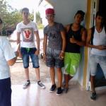 Homenaje a Marcelo Salado  Lastra  en el Joven Club  jiguani III
