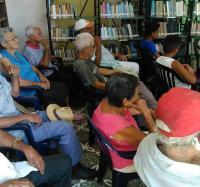 Atención al adulto mayor en el Joven Club Manzanillo IV.