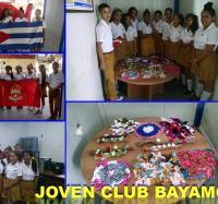 """Joven Club de Computación Bayamo II y la ESBU """"Vicente Quesada O´connor""""."""