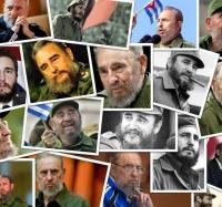 Fidel en la juventud.