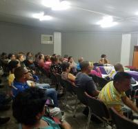 Encuentro de la Unión de Informáticos de Cuba con todos los directivos de Jiguaní