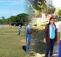 Trabajadoras de Joven Club sostienen encuentro con peloteros de Buey Arriba