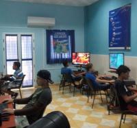 Festival de Juegos en la Red en el Joven Club Campechuela 1