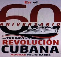 Aniversario 60 del Triunfo de la Revolución Cubana.