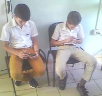 Inicia curso de Telefonía Celular Móvil para niños en el Joven Club Cauto Cristo II.