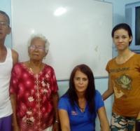 Joven Club Jiguaní, apoyando a los concursantes de la Banda Gigante. En especial a la flautista jiguanicera Roselis