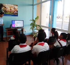 Joven Club de Computación y la Unión de Informáticos en Granma celebran el Día de la Internet Segura - Joven Club Granma