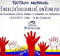 Tuitazo mundial en solidaridad con el pueblo y gobierno de Venezuela.