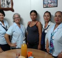 Día de la mujer en el Joven Club Manzanillo II