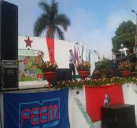 Joven Club Masó I participan en las celebraciones del 4 de abril.