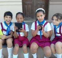 Joven Club Jiguaní II celebara del día internacional de las niñas en las TIC