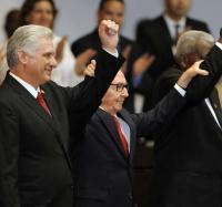 Matutino en el Palacio de las tecnologías por la proclamación de la Constitución de Cuba