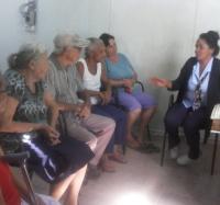 Actividades de GeroClub en el municipio de Guisa