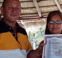 Taller de trabajo comunitario en  Consejo Popular Amador Liens Cabrera de Buey Arriba