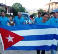 Se suma Joven Club en Guisa al Desfile del 1ro de Mayo Por la Patria