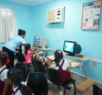 Diversas actividades se realizan en el Joven Club Buey Arriba I, en el Día Internacional de las niñas en la TIC.