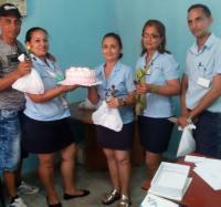 Celebración del día de las madres en Joven Club Buey Arriba II