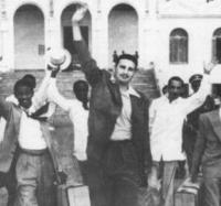 Recuerdan en el Joven Club Yara III aniversario de la excarcelación de Fidel y un grupo de los moncadistas.