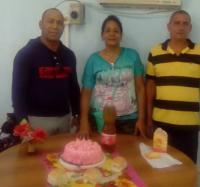 Festejan el día de los padres en el Joven Club Río Cauto III.