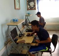 El Joven Club Campechuela II, un lugar de preferencia para la comunidad.
