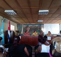 Miembros de la FMC de Buey Arriba aprueban objetivos de trabajo para próxima etapa