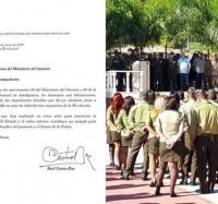 Envía Raúl Castro felicitación al Ministerio del Interior por sus 58 años