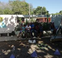 Hasta el Paqque infantil llegan las actividades del Joven Club Yara III