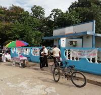 Actividad Cultural en Bario Azul.